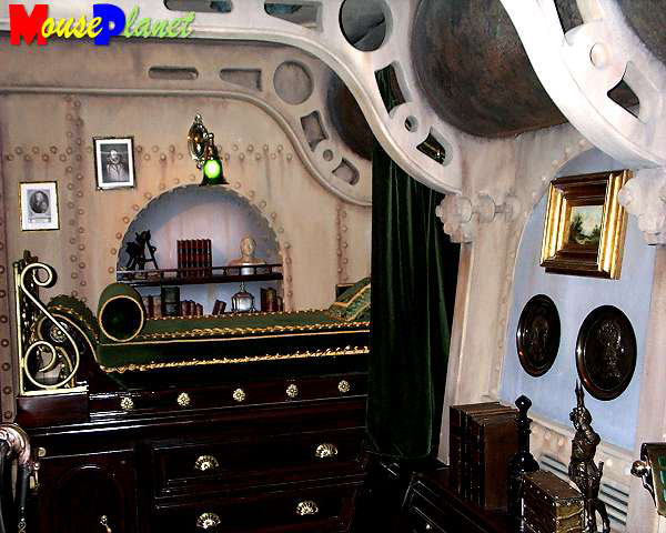 The Steampunk Home The Interior Of The Nautilus